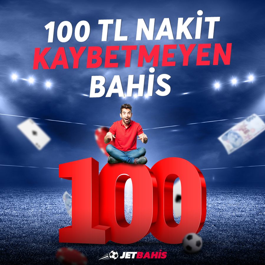 100 TL Kaybetmeyen Bahis